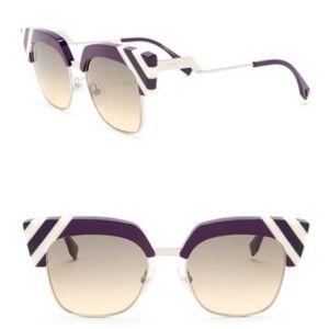 Fendi modified square 50mm Sunglasses